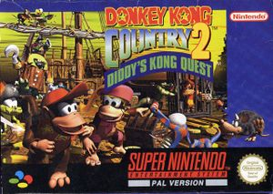 Donkey Kong Country 2 Diddy's Kong Quest Snes Cover.jpg